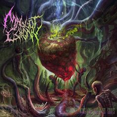Maggot Colony - Spewing The Violated Souls [ep] (2015), Brutal Death Metal