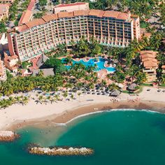 Fiesta Americana Puerto Vallarta Vista Hotel Romantic Vacations, Dream Vacations, Vacation Trips, Vacation Ideas, Puerto Vallarta Resorts, Family Is Everything, Mexico Vacation, Exotic Places, Hotels And Resorts