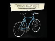 SAMSUNG SMART BIKE samsung, together with maestro giovanni pelizzoli - the bicycle has been developed to protect the rider via a samsung smartphone. the intelligent package comes with an innovative curved frame that neutralizes dangerous vibrations caused by riding on rough city streets, four laser beams that create individual bike lanes, an integrated GPS system and a rearview camera that streams a live video feed to the handlebar-mounted samsung device.