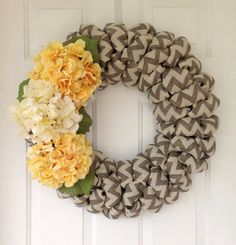 Winter or Fall Modern wedding Gray white by SimpleCountryBurlap, $65.00