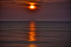 Do you remember the time? Sunrise at Satellite Beach, Florida
