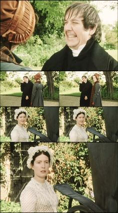 Pride and Prejudice - At home with the Collinses  It would be hard living with him....