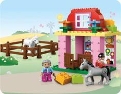 LEGO 10500 DUPLO: Pferdestall