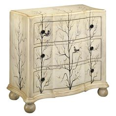 Winter Woods Accent Chest.