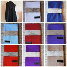 HAND WOVEN 100% THAI SILK PASHMINA SCARVES/SHAWLS IN 9 DIFFERENT COLOURS