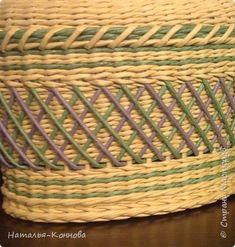 Здравствуйте, уважаемые жители страны мастеров. Сегодня хочу показать вам две мои последние работы : шкатулку для рукоделия и пасхальную курочку. Я продолжаю осваивать замечательную технику плетения, которое стало любимым занятием. фото 6