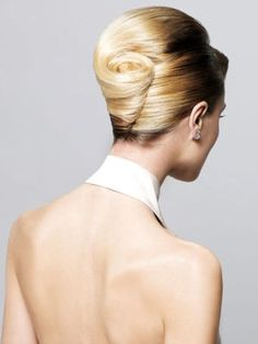 Wedding hairstyle - Michel Dervyn