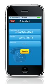 International Calling App  A simple to use iPhone App that allows users to easily dial international numbers.