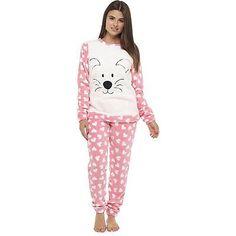 54e48b177d6fa Femmes Hiver Chaud Confortable traditionnel sommeil COSTUMES Pyjama  Ensemble ( Sommeil, Chemise, Hiver,