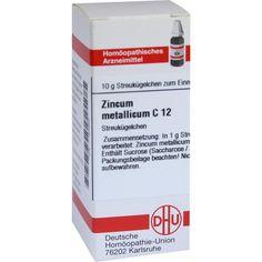 ZINCUM METALLICUM C 12 Globuli:   Packungsinhalt: 10 g Globuli PZN: 07183883 Hersteller: DHU-Arzneimittel GmbH & Co. KG Preis: 5,50 EUR…