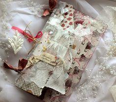 Snowflake Mini Album - Цветочный Новый Год, 3 этап - Мини Альбом