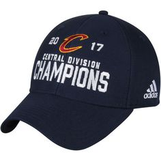 Cleveland Cavaliers adidas 2017 NBA Central Division Champions Adjustable  Hat - Navy 65f40606ec