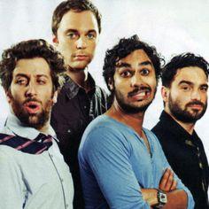 The boys of big bang:) bazinga!