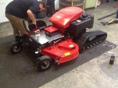 TRX60 Remote Control Slope Mower