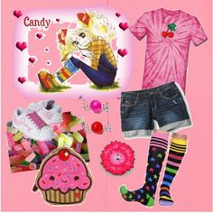 I Want Candy, created by kerry-spencer.polyvore.com