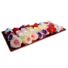 Wonderful wholesale Bath Roses that your customer can use as Individual guest soaps or as a special romantic treat sprinkled in the bath. Wholesale Bath Confetti Roses Perfect as wedding favours, gifts for Valentine's Day,