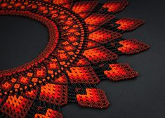 No photo description available. Collar Macrame, Beaded Collar, Baby Jewelry, Beaded Jewelry Patterns, Tatting Patterns, Neck Piece, Bead Art, Beaded Necklace, Necklaces