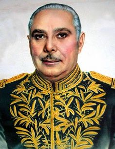 US-backed military dictator of the Dominican Republic - General Rafael Trujillo. Guilty for the mass murder of over 50,000 of his own people, including the systematic campaign of genocide of as much as 25,000 ethnic Haitians in the Dominican Republic.