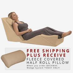 Lcao010 This Wedge Pillow Relieves Lower Back Pain