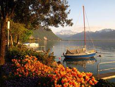 Switzerland | Lake Geneva, Montreux