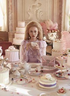Princess Aesthetic, Pink Aesthetic, Photo D Art, Fashion Photography Inspiration, Marie Antoinette, Retro, Eat Cake, Editorial Fashion, Tea Party