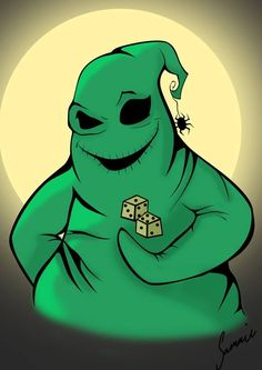 """""""Are you a gambling man, Santa?""""                             -Oogie Boogie"""