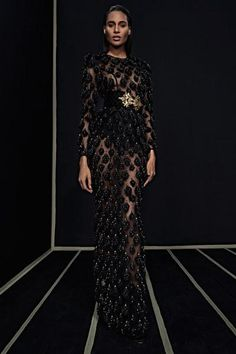 The new Balmain collection is here! See every look on Vogue.com
