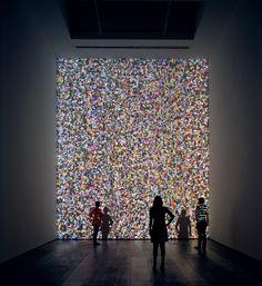 GLITCH Jennifer Steinkamp – Daisy Bell #installation #digital #art  For more inspiration follow me on IG: THEGYPSETTER Also on > www.samaryounes.com <