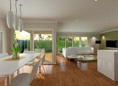 Sekisui House Australia Designs - Akari 345 Open plan living