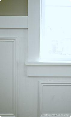 craftsman window trim>Thrifty Décor Chic