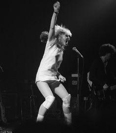 blondie photos 1978 | Blondie at the Roundhouse in Chalk Farm, north-west London in March ...