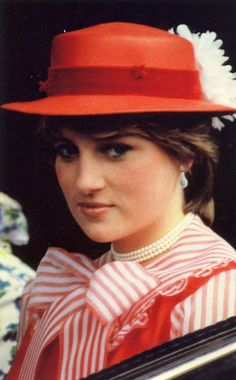 Lady Diana Spencer at Ascot, June 1981. So young and beautiful; and in love, and trusting and naive.