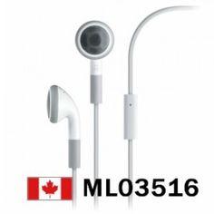 OEM Apple Headphone Headset For iPhone iPod W / MIC New    Price = $14.99