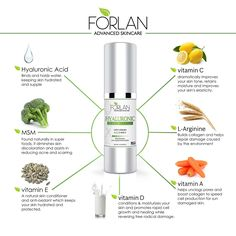 The Beauty Pirate: Huge Discount on Forlan Hyaluronic Acid Serum with Vitamin C, E, A & D