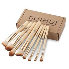 Makeup Brush Set Kit 8Pcs Cosmetic Eyeliner Blush Contour Powder Cream Concealer >>> Check out this great product.