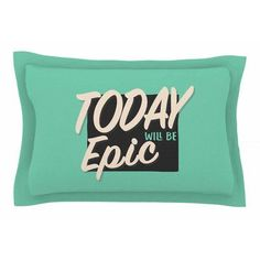 East Urban Home Epic Day by Juan Paolo Pillow Sham Size: Queen