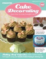 20 best Cake Decorating Magazine images on Pinterest   Petit fours     Fall cupcakes  just adore these  Find this Pin and more on Cake Decorating  Magazine