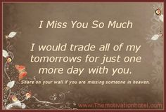 The Motivation Hotel: I Miss You So Much