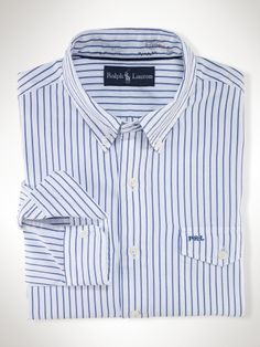 ec39e514352ca Custom-Fit Striped Pocket - Polo Ralph Lauren Custom Fit - Ralph Lauren UK