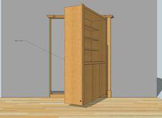 91 Best Hidden Doors Images In 2020 Hidden Rooms Secret Rooms Bookcase Door
