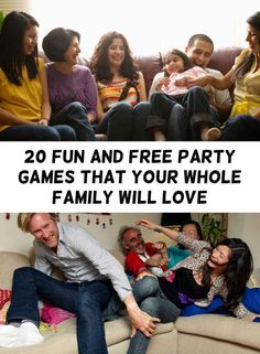 20 Insanely Simple Party Games To Entertain Your Whole Family