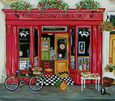 Irish Tea Shop by Suzanne Etienne