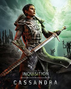 Dragon Age: Inquisition - Cassandra She will be my characters best friend