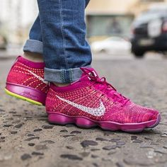 competitive price 63af7 6c7a6 Nike Flyknit Zoom Agility Fireberry Hyper Punch 698616-600