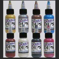 ProAiir Dazzle DIPS Waterproof Brush On Makeup - 1 oz (30 ml) Face & Body Singles