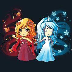 Fire n Ice, do u know? They're sis!