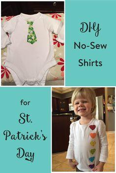 DIY St. Patricks Day Shirts