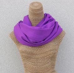 Grape Purple Pashmina Shawl - Handwoven in the Kashmir Valley . 100% Merino Wool