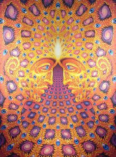 "Loved this Alex Grey artpiece ""One"" for many years"
