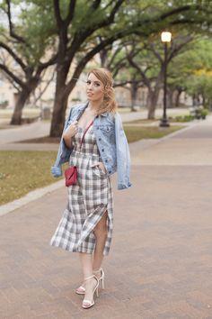 Rian Nichole Fashion Consulting // Fashion Blogger // Stylist // Street Style // riannichole.com // Rosalyn Ash Photography // Plaid Romper // Denim Jacket